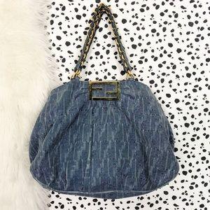 Fendi | Authentic Mia Zucca Tote Canvas Handbag